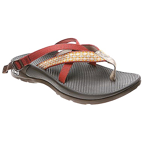 Surf On Sale. Free Shipping. Chaco Women's Hipthong Sandal (Spring 2010) FEATURES of the Women's Hipthong Sandal by Chaco BioCentric footbed with PU formulation that provides out-of-box comfort Casual open-heel design 360 degree Wrap-Fit adjustable instep strap Fixed straps anchor under the midfoot to eliminate in.floppingin. and promote more active use Nylon toe piece engineered to provide the perfect blend of durability and comfort EcoTread outsole is made with 25% recycled rubber to reduce our impact on the planet Versatile sport sandal offers durability for the outdoor enthusiast, and a casual feel for relaxing after a day of adventuring - $55.99