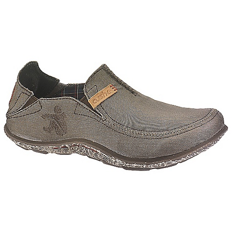 Surf Free Shipping. Cushe Men's Surf Slipper Loafer Waxed DECENT FEATURES of the Cushe Men's Surf Slipper Loafer Waxed Posture: Zero Degree Pitch Antimicrobial Footbed to help you stand up straight and keep your kicks smelling fresh Comfort: Double gusset foot opening providing secure comfort and support Collapsible: Collapsible deconstructed canvas upper for more casual, laidback Cushe styling Support: Sculptured Wave Sidewall Profile merging external design feature with important internal arch support and added Cushe comfort Design: Unique Manuka 'Honeycomb' Outsole design Breathability: Fine Canvas Lining offering additional breathability and cooling The SPECS Upper Material: Premium waxed canvas Lining: Ventilated mesh with microfiber sock Midsole: Lightweight phylon moulded EVA with rubber sole for enhanced shock absorption and comfort Outsole: Moulded rubber with in.Manuka Honeycombin. grip - $79.95