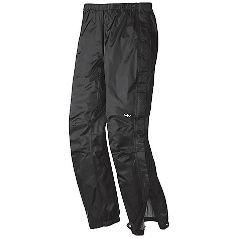 Free Shipping. Outdoor Research Women's Palisade Pant DECENT FEATURES of the Outdoor Research Women's Palisade Pant Waterproof Fully Seam Taped Elastic Waist with Drawcord Rear Pocket Doubles as Stuff Sack Double-Separating Side Zippers Gusseted Crotch Articulated Knees Cuff Closures Grommets for Instep Lace The SPECS Weight: (M): 10.8 oz / 307 g Fit: Standard Inseam: 31in. / 79 cm Barrier, 100% nylon 70D This product can only be shipped within the United States. Please don't hate us. - $68.95