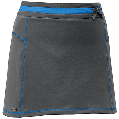 Free Shipping. Outdoor Research Women's Offline Skort DECENT FEATURES of the Outdoor Research Women's Offline Skort Breathable Lightweight Movement-Mirroring Stretch Drawcord Waist Pocket at Back Stretch Liner Short The SPECS Weight: 7.2 oz / 203 g Fit: Standard Length: 14 1/2in. / 37 cm 88% nylon, 12% spandex This product can only be shipped within the United States. Please don't hate us. - $61.95