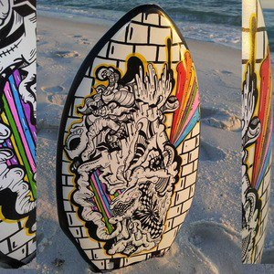Surf Saturday Night #SurfArt by Sam Milner