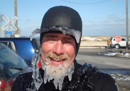 Brrr it's been COLD in Cali! Beard Freeze!