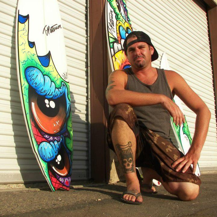 Surf Scott Metzner has worked in the surf industry since he was 15 years old!