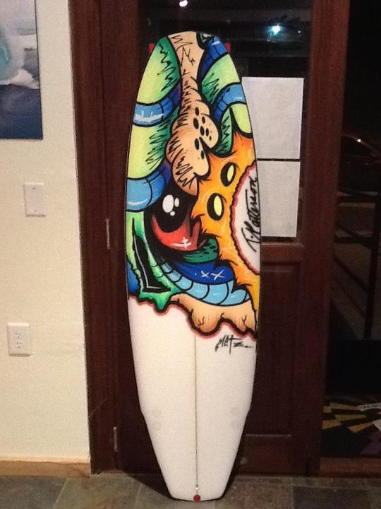 Surf 1 gnarely board by Scott Metzner