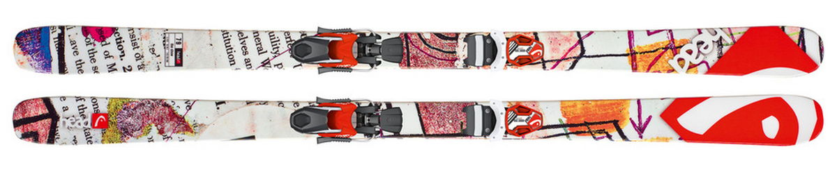 Ski THE SHOW Twin Tip Skis - $175.00
