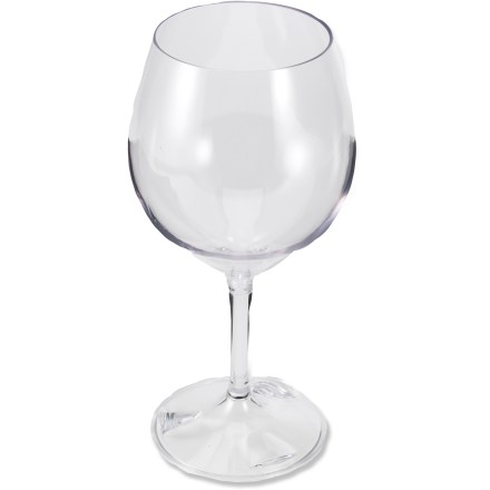 Camp and Hike Pop the cork on your favorite vintage and fill up the GSI Nesting Red Wine glass on campouts and picnics. - $7.95