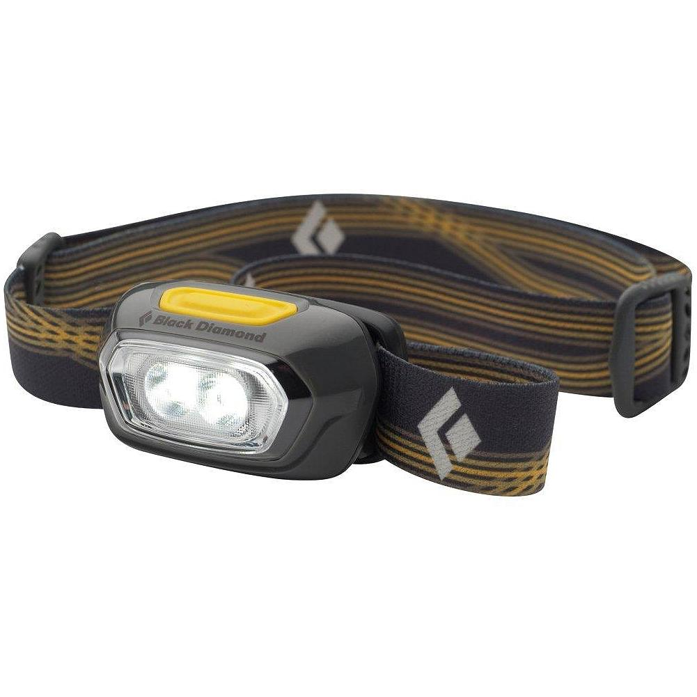Black Diamond Gizmo Headlamp - Ultra-compact, with full strength, dimming and strobe settings. Up to 35 lumens/100 hours maximum burn time. Automatically powers off after 4 hours. Water-resistant. Uses two AAA batteries (included). Imported. - $16.99
