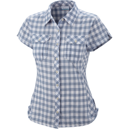 Camp and Hike A lazy afternoon on a sunny deck calls for the Columbia Women's Camp Henry Shirt ... and perhaps some ice cream. Feminine and flattering, the Camp Henry maintains a casual air without looking lazy or sacrificing on classic, understated style. - $31.96