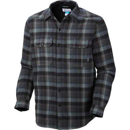 The lined Columbia Windward Shirt has a bit more bulk than your traditional flannel. An acrylic/wool blend maintains your warmth, and when you pair the Windward with a nylon shell your inner core will be warm and happy. - $55.97