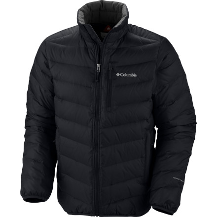 There's no need to commit some horrible crime or lead a degenerate life in order to enjoy the toasty warmth of Hades. Simply zip into the Columbia Men's Hellfire Down Jacket, and you'll stay warm in bitter weather without resorting to less socially acceptable ways of staying warm like binge drinking and arson. - $111.96