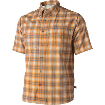 Camp and Hike Button up the Dakota Grizzly Gavin Shirt and head for the woods, or undo a few buttons as you unwind in a camp chair. Made for rugged relaxing, this outdoors-oriented, casual yet composed shirt fits right in next to your fly rod or dutch oven. - $58.95