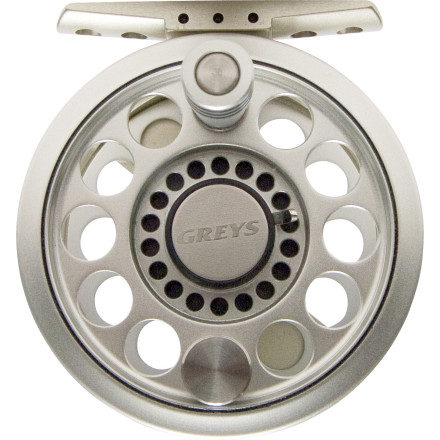 Flyfishing Greys designed the Streamlite Fly Reel to be the perfect match for modern lightweight fly rods. The lightweight design and large arbour provide increased retrieval power while the raised and bolted reel foot make it durable enough for the toughest fishing conditions. With its sleek design and dual color scheme, the Streamlite is the perfect complement to not only your favorite lightweight rod, but to the pristine scenery on your favorite river as well. - $111.00