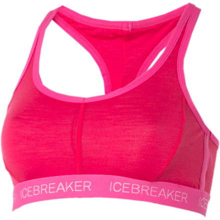 Fitness Synthetic fabric can get pretty darn stinky halfway through sweaty workout classes, sweaty plane rides, and sweaty week-long backpacking trips. Icebreaker made the Nature Sprite Racerback Bra with naturally odor-resistant merino wool so you can breeze right through and still smell decent. - $24.98
