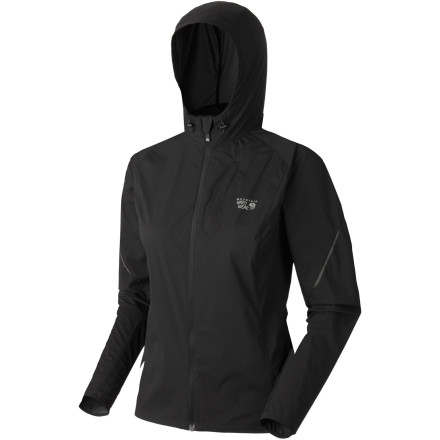 Fitness Beat the cool spring chill with the Mountain Hardwear Women's Geist Hooded Jacket. This thin, super-lightweight cross-training jacket has an adjustable hood, soft chin guard, and reflective trim that allows motorists to see you in low-light conditions. Its one-handed hem drawcord also seals in warmth when you stretch or start to cool down. - $62.48