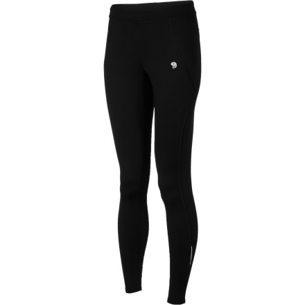 Fitness Keep your muscles and joints warm on your next winter trail run with the help of the Mountain Hardwear Women's Super Power Tight. This stretchy, heavyweight tight with a soft brushed interior was designed to keep you performing at your peak in cold weather, both on its own or under a weatherproof shell pant. - $55.97