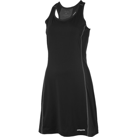 Entertainment Switch up your old short-and-tank routine with the Patagonia All Weather Dress. This ready-to-play piece puts the wicking, breathable feel of performance wear into the shape of a dress. - $24.50