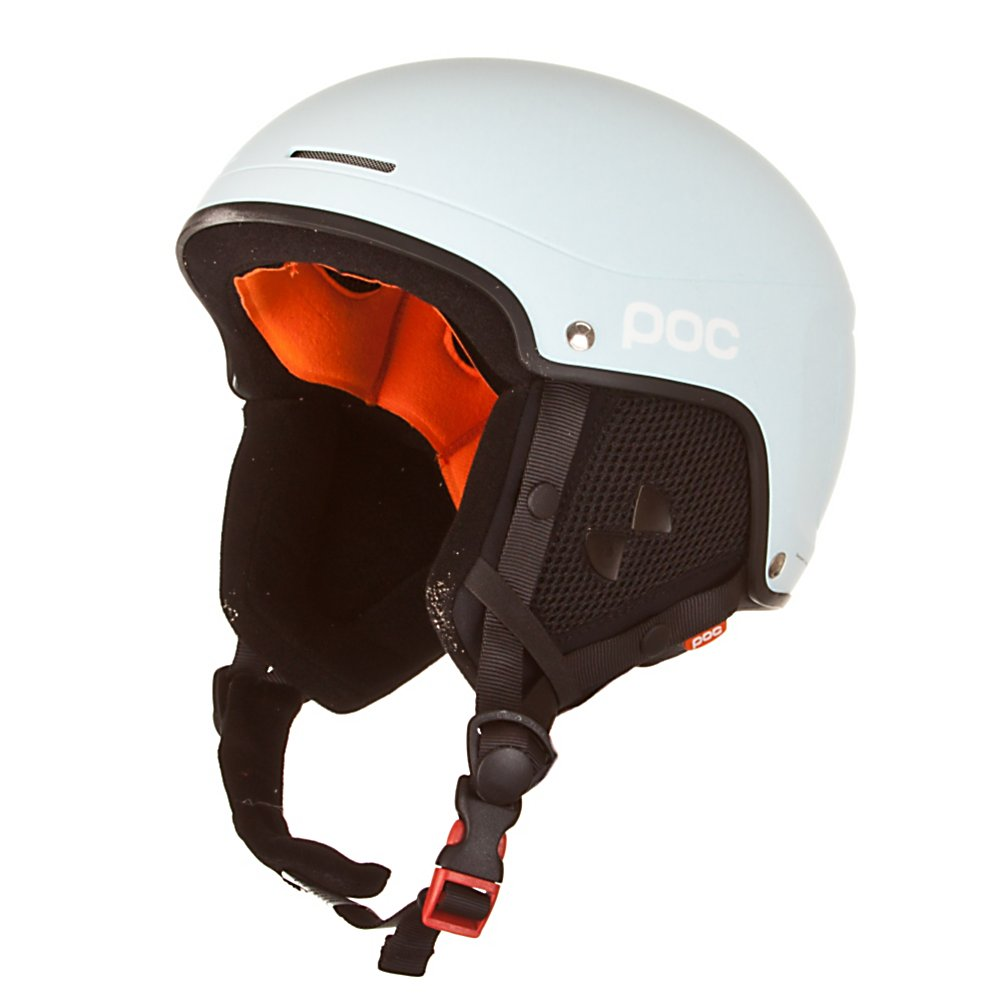 Ski POC Skull Light Helmet - Designed primarily for freeride skiers the POC Skull Light Helmet uses semi-hard technology on a lighter weight profile to give aggressive skiers the protection they need without weighing them down. These helmets are developed in line with the technology of the other Skull Helmets but are aimed specifically towards freeride skiers. They use the same semi-hard shell technology but are made lighter and have detachable ear pads for those warm spring days. . Certifications: EN 1077, Warranty: One Year, Gender: Mens, Race: No, Category: Half Shell, Audio: Not Compatible, Brim/Visor: No, Ventilation: Fixed, Custom Fit Adjustment: No, Year Round Capable: Yes, Model Year: 2010, Product ID: 293471 - $69.95