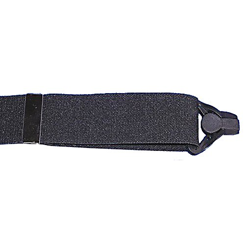 Ski Hold Up Ski Up Adult Suspenders - Hold up has thought of everything in making this Ski Up the perfect suspenders for snow skiers, boarders and snow machine racers. No more adjusting or pulling up snow pants, this ski up now has the perfect clasp that has been designed for delicate materials. The plastic clasp is made of a strong composite plastic clip that will not harm your fabric, yet it will hold up your pants like a vice grip. This gripper clasp is also cam operated, the harder you pull, the tighter the gripper clasp holds on to all types of snow pant materials. The elastic strap is 1.5 inches wide, made of a poly blend elastic strap that is adjustable to 48 inches for the maximum length. The gripper clasp features a curved cam lever design that eliminates the occasional flip open problem of the original plastic gripper clips. There is a top grade brown leather X back crosspatch on the back, with the embossed holdup logo, everything that you need and want from a high end pair of ski suspenders for all of your outdoor winter activities. Features: One size fits most, Great fit, made of high end materials. Model Year: 2013, Product ID: 177826 - $22.50