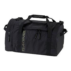 Snowboard Dakine EQ Medium Duffel Bag Duffle Bag - The Dakine EQ Medium Duffel Bag is an excellent choice for an overnight or extended weekend trip. The EQ features a U-shaped opening that allows you to easily get to your items and a zippered side pocket allows for extra storage space for some little loose items that you may have. The padded shoulder strap makes it easy and comfortable to transport the EQ Duffel Bag. Made with 600D Polyester this EQ Duffel Bag will last you many years. . Model Year: 2012, Product ID: 245277 - $39.95