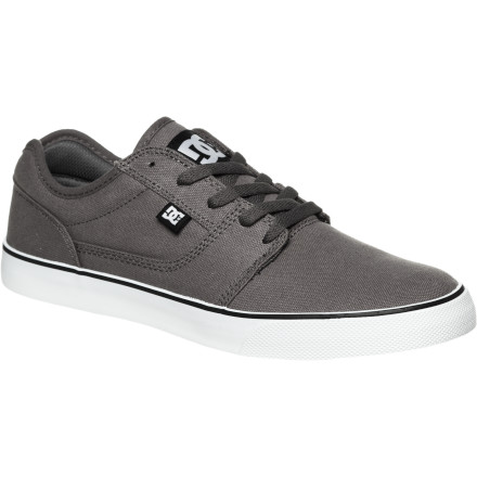 Skateboard Achieve maximum casualocity without abandoning your skate roots with the DC Bristol TX Skate Shoe. The lightweight upper increases the peace (and airflow) to your feet while the durable rubber outsole wages war on wear and tear. - $55.00