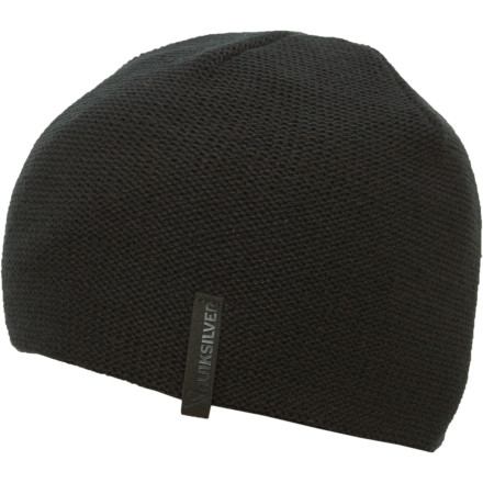 Surf Ya gotta love hippies. Love them even more as you strut to and fro, hither and yon, in your Quiksilver Revolve Beanie. - $11.70