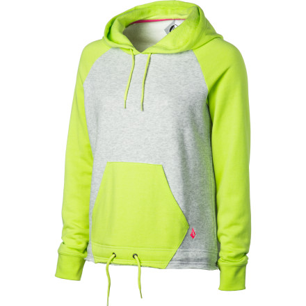 Surf Volcom Back In Dayze Pullover Hoodie - Women's - $31.47
