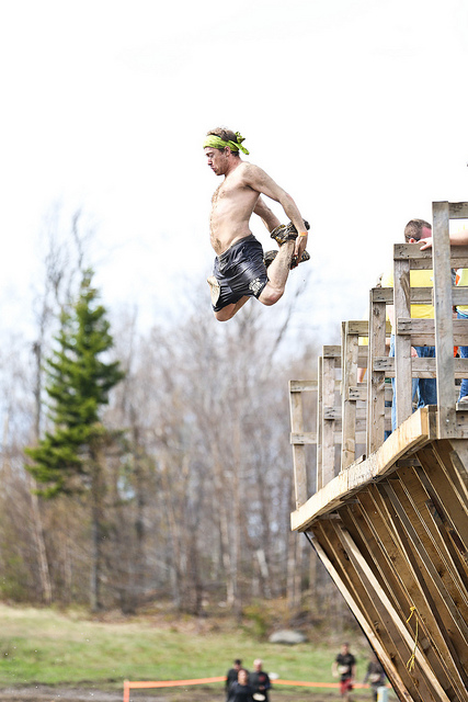 Fitness Tough Mudder New England 2012 (#1). Mount Snow, Vermont