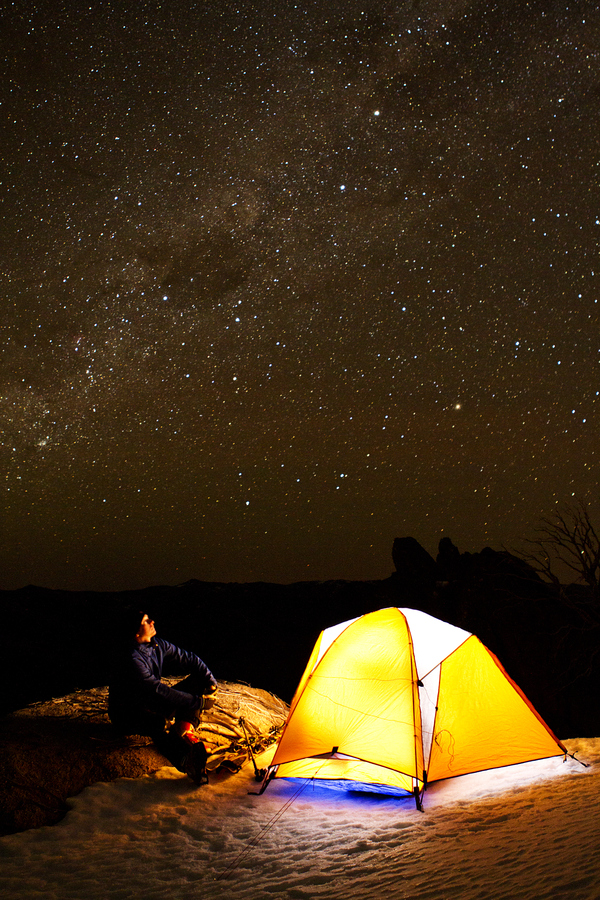 Camp and Hike Starry Night
