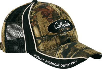 Hunting Camo on front and back. Ventilating mesh on sides. Hook-and-loop fastener. One size fits most. Imported. Camo pattern: Mossy Oak Break-Up Infinity . - $7.88