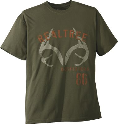 Hunting Loaded with outdoor appeal, these sturdy and breathable tees broadcast your love of nature. Constructed of 100 cotton jersey, the antler and crest versions sport distressed full-front graphics while the ammo version has its oversized graphic on the left chest. Machine washable. Imported. Sizes: M-2XL.Styles: Arched Antler, Retro Ammo, Retro Crest. - $17.99