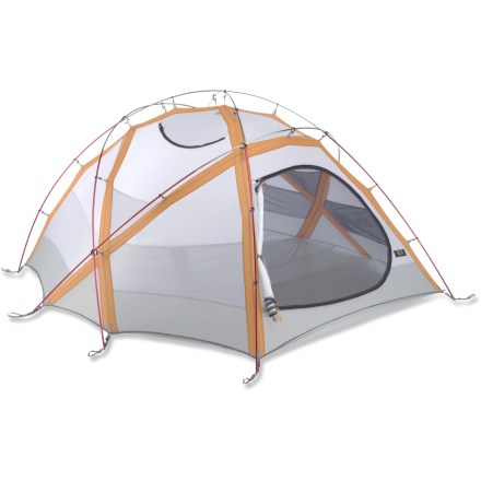Camp and Hike The Mountain Hardwear Trango 4 tent is designed for winter mountaineering. It's built incredibly strong and engineered for the toughest high alpine conditions. - $599.93