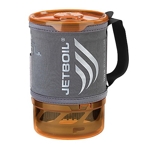 Free Shipping. Jetboil Sol FluxRing Companion Cup DECENT FEATURES of the Jetboil Sol FluxRing Companion Cup 0.8 Liter FluxRing cooking cup Insulating neoprene Cargo Cozy with secure nylon handle Drink-through lid with pour spout and strainer Bottom cover doubles as a measuring cup and bowl Compatible with Jetboil Sol, Zip, Flash and PCS Capacity to pack Sol and Zip burner base with one 100g Jetpower can The SPECS Volume: 16 oz / 0.8 Liter Water Boiled: 12 Liters per 100g Jetpower canister Dimensions: 4.1in. x 6.5in. / 104 mm x 165 mm The SPECS for Aluminum Weight: 7.2 oz / 205 g The SPECS for Titanium Weight: 6 oz / 170 g - $49.95