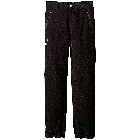 Ski On Sale. Free Shipping. Patagonia Men's Lightweight Guide Pant DECENT FEATURES of the Patagonia Men's Lightweight Guide Pant Lightweight 4-way stretch-woven polyester double weave with DWR (durable water repellent) finish Gusseted crotch Separated zip waist (not pull-on) Belt loops 2-way zip fly Pockets: two zippered hand warmers, one zippered thigh, right glued-on thigh Zippers: hand and thigh are laser cut and glued Reinforced knees to resist abrasion Articulated knees Crampon/ski-edge scuff guard Zippered and snap gusset with full gripper elastic Tie-down loops at ankle cuffs The SPECS Slim fit Weight: 17.8 oz / 504 g 6.2 oz 91% all-recycled polyester/9% spandex double weave with Deluge DWR (durable water repellent) finish Recyclable through the Common Threads Recycling Program This product can only be shipped within the United States. Please don't hate us. - $69.99