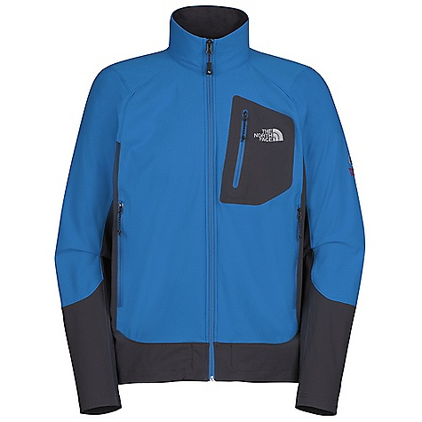 On Sale. Free Shipping. The North Face Men's Apex Elixer Jacket DECENT FEATURES of The North Face Men's Apex Elixer Jacket Alpine fit TNF Apex Aerobic soft shell fabric wind permeability rated at 10 CFM Patch on Napoleon chest pocket Reverse coil zips Two hand pockets Hidden hem cinch-cord at center front zip Imported The SPECS Average Weight: 12.1 oz / 410 g Center Back Length: 28in. 90D 73% nylon, 17% polyester, 10% elastane four-way stretch TNF Apex Aerobic This product can only be shipped within the United States. Please don't hate us. - $69.99