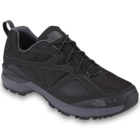 Camp and Hike Free Shipping. The North Face Men's Blaze Shoe DECENT FEATURES of The North Face Men's Blaze Shoe Upper: Rubber screen-print toe cap for lightweight protection and durability Leather overlays for structure Breathable, abrasion-resistant mesh Gusseted tongue EVA footbed for underfoot cushioning Bottom: Compression-molded EVA midsole with Cradle heel technology High-abrasion UltrATAC rubber outsole The SPECS Last: TNF-001N Approx Weight: 1/2 pair: 11 oz / 311 g, pair: 1 lb 6 oz / 622 g This product can only be shipped within the United States. Please don't hate us. - $79.95