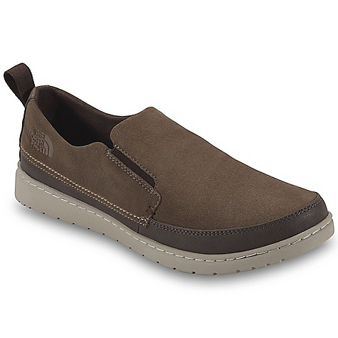 Camp and Hike Free Shipping. The North Face Men's Base Camp Luxe Slip-On  Shoe DECENT FEATURES of The North Face Men's Base Camp Luxe Slip-On Shoe Upper: BLC-compliant, velvet suede upper Protective, PU-coated leather mudguard Comfortable, moisture-wicking lining Easy on/off dual-gore construction Egg-crate-inspired, perforated Plus Foam footbed for superior comfort and resistance to compression-set Perforated microfiber footbed Bottom: Durable, 40% recycled rubber outsole The SPECS Last: TNF-F0903 Approx Weight: 1/2 pair: 12.2 oz / 342 g, pair: 1 lb 8 oz / 684 g This product can only be shipped within the United States. Please don't hate us. - $99.95