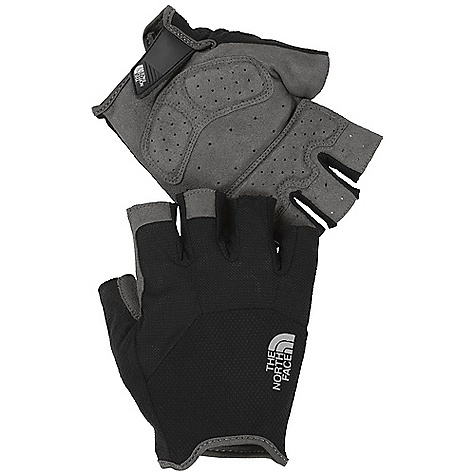 MTB The North Face Propel Glove DECENT FEATURES of The North Face Propel Glove All-over back-of-hand mesh Mesh finger-wall construction keeps fingers cool Cushy palm pads and finger reinforcements Super-soft nose wipe on thumb Strategic palm perforations enhance breathability Reflective logo Watch Notch wrist closure The SPECS Palm: Nylon/polyester synthetic suede Back of Hand: Nylon/elastane stretch mesh Nosewipe: Polyester microfiber Palm Protection: 3 mm foam pads This product can only be shipped within the United States. Please don't hate us. - $25.00