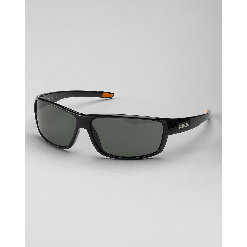 Entertainment Suncloud Voucher Sunglasses - Suncloud's Voucher sunglasses offer a great mix of function, fit and features in a midsize wrap. Polarized polycarbonate lenses. Grilamid TR frame. 100% UVA/UVB protection. Imported. - $49.99