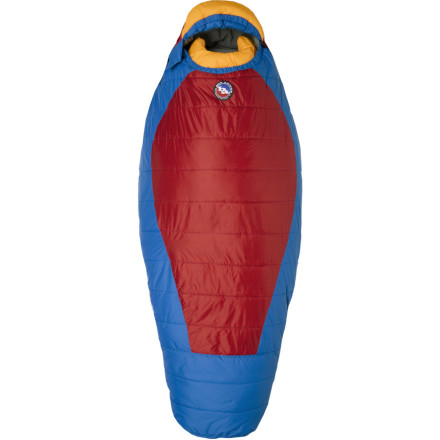 Camp and Hike Once you've finally convinced your little backwoods madman that it's time to get some shut-eye, he'll be fired up to know that he has the Big Agnes Kids' Wolverine Sleeping Bag taking care of him. The Wolverine comes with features just like the adult version, such as an integrated sleeping pad system and interior fabric loops for a liner, but it's sized for a little guy so he can carry it without a struggle. - $87.96