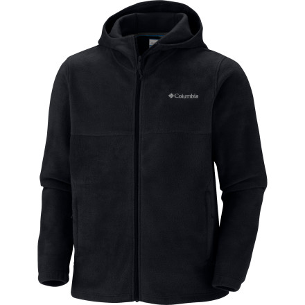 Worn under your waterproof shell jacket, the Columbia Steens Mountain Hoodie provides heat-trapping warmth. Worn on its own over a long-sleeve tee, this soft fleece jacket provides mountain-town style as well. - $31.47
