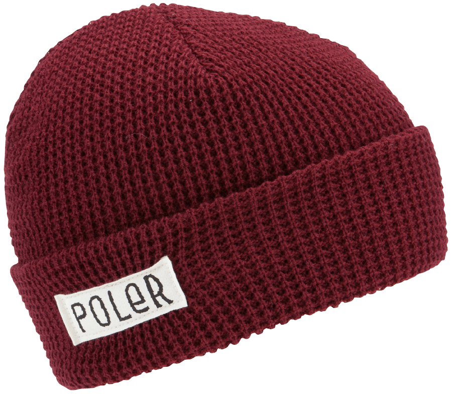 The Poler Worker Man waffle weave beanie is made in the USA. Its guaranteed to look good in the 48 contiguous states and rumored to look even better in Alaska and Hawaii.    A true American classic. - $19.95