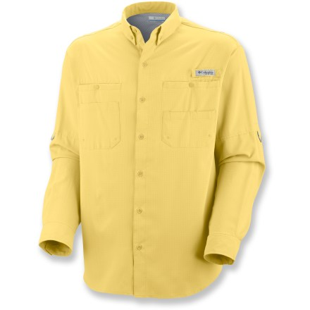 Camp and Hike The Columbia Sportswear Tamiami(TM) II long-sleeve shirt is constructed to keep you comfortable in warm climates. - $48.00