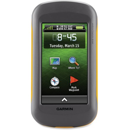Camp and Hike This tough, waterproof GPS features a large touch-screen display, multiple mapping options, a 3-axis compass and a barometric altimeter for reliable backcountry navigation and tracking. - $351.93