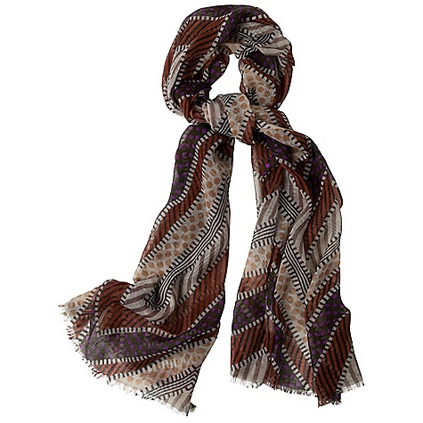 Free Shipping. Prana Pow Wow Scarf DECENT FEATURES of the Prana Pow Wow Scarf Fair Trade Printed enthic inspired design Light weight wool fabrication The SPECS Wide: 28in. wide, Long: 79in. Fabric: 100 Wool - $49.95