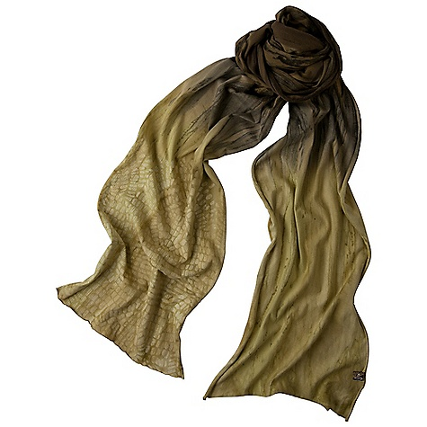 Prana Sublime Scarf DECENT FEATURES of the Prana Sublime Scarf Placement screen print with rain wash novelty dye treatment The SPECS Wide: 12in. wide, Long: 70in. Fabric: 100 Cotton - $35.95