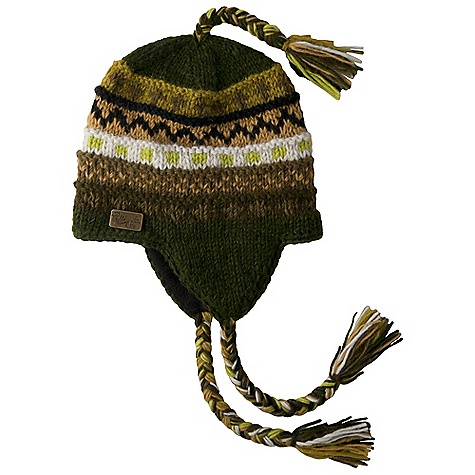 Entertainment Prana Marci Tassel Beanie DECENT FEATURES of the Prana Marci Tassel Beanie Fair Isle intricate design Ear flaps with multi-colored tassels Fleece inner band Standard Fit The SPECS Fabric: 100 Wool - $38.95