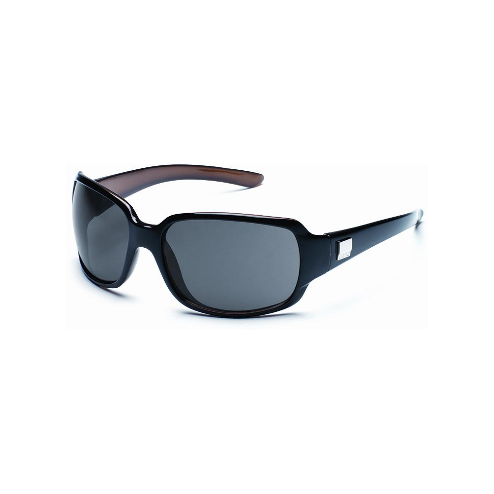 Entertainment Suncloud Cookie - Black Sunglasses - Slightly oversized for more coverage, these sunglasses are made with lightweight, impact-resistant, polarized lenses that are injection molded to provide exceptional clarity and 100% protection from harmful UVA and UVB rays. Lightweight grilamid nylon frame. Medium fit. Imported.. - $49.99