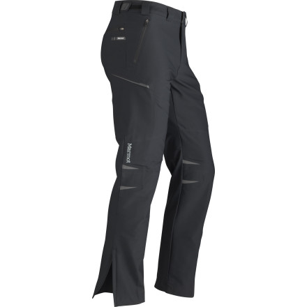 Tough as nails, that's how we would describe the Marmot Men's Entrada Softshell Pant. A combination of Schoeller softshell fabric and M3 softshell make this pant durable, breathable, and plenty flexible. In the heat of the desert, the Entrada pant will help you stay cool by releasing sweaty vapors from within, and when you drag your body over abrasive boulders, this pant will shrug it off with ease. You're living in the past if you're still considering your denim. - $92.48