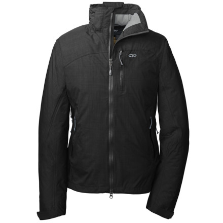 Ski The Outdoor Research Womens Stormbound Jacket lives for those heavy-clouded days when everyone else hides in the lodge. Thanks to 650-fill down insulation and waterproof fabric, the Stormbound keeps you on the hill to enjoy the fresh powder. - $159.58