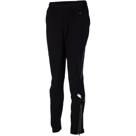 Ski Get in a quick early-morning workout with the Swix Women's Bergan Softshell Tight. This slim-fit pant wears well while you nordic ski or train, thanks to its strategically-placed stretch panels that allow you to move freely on the track or when you venture into rolling meadows. - $83.97